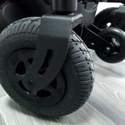 Silla de ruedas Eléctrica Q200R - Ruedas delanteras