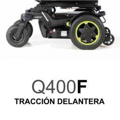 Silla de Ruedas Eléctrica Q400F - Tracción Delantera