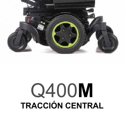 Silla de Ruedas Eléctrica Q400M - Tracción Central