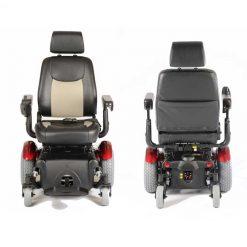 Silla eléctrica R320 - Vista frontal y trasera