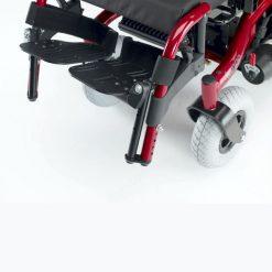 Silla de Ruedas Eléctrica Tango - Reposapies ajustables altura Infantil (Opcional)