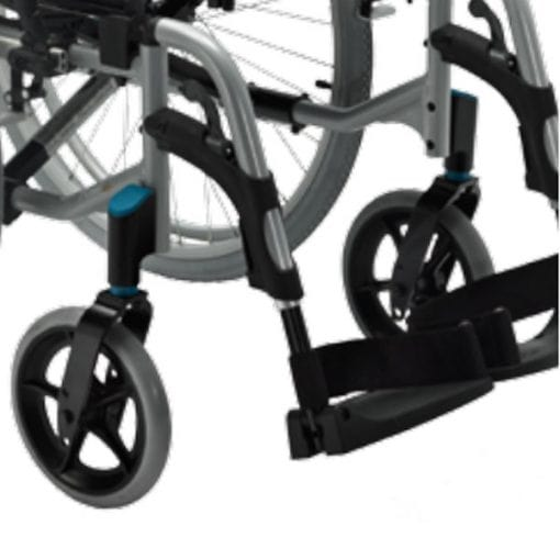 Silla Ruedas Action 2NG - Invacare - Reposapies