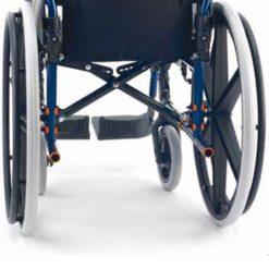 Silla de ruedas Breezy 250P - Detalle trasero