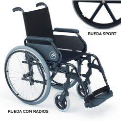 Silla de Ruedas Breezy 300 - Rueda Grande