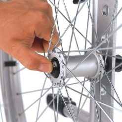 Silla de ruedas de Acero S-Eco 300 - Sistema extracción rápida rueda trasera 600