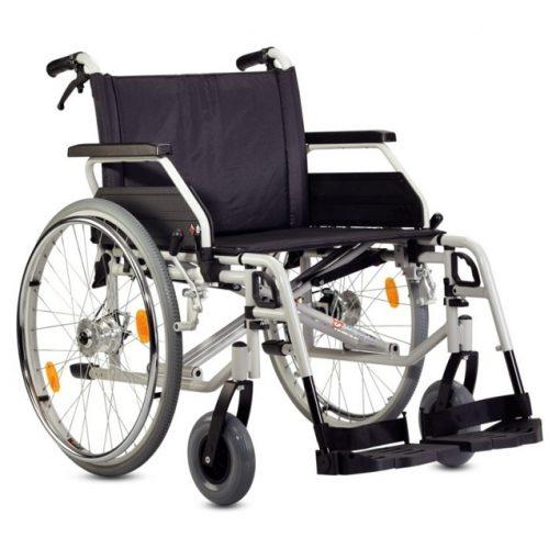 Silla de ruedas de Acero S-Eco 300 XL - Con frenos de Tambor (Opcional)