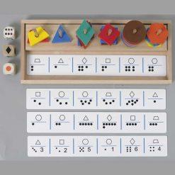 Six Master- Formas, Colores, Cantidad