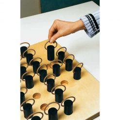 Solitario - dedos