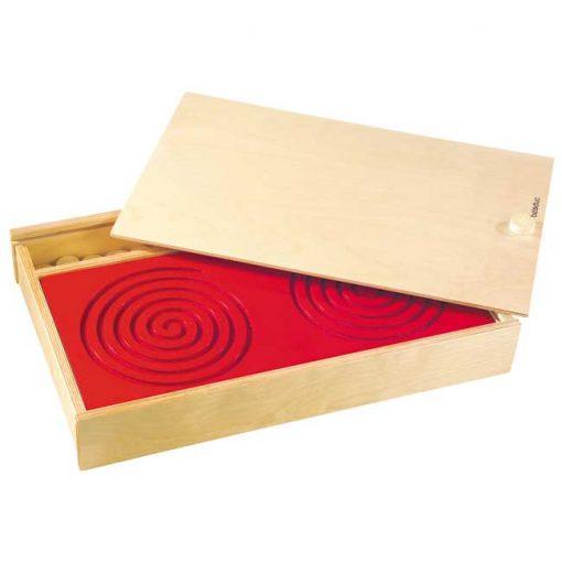 Tabla tandem - caja