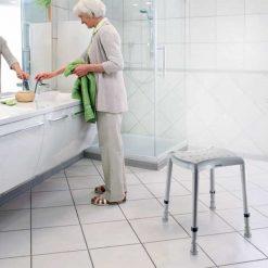 Taburete de baño Aquatec Dot