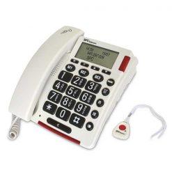 telefono hablante funcion emergencia