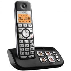Teléfono inalámbrico con fotos AEG Voxtel S120
