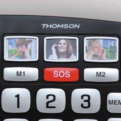 Teléfono Thomson Safy - Teclas con foto