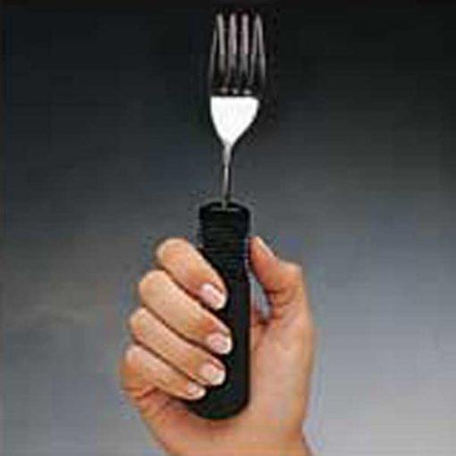 tenedor mango grueso