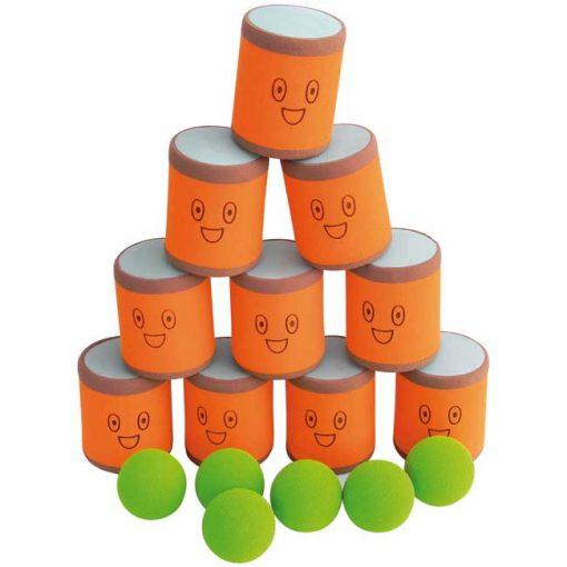 Tira las latas - juego