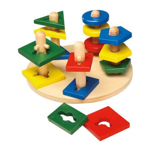 Torres motricidad - juego