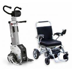 Salvaescaleras Portátil Yack N912 con silla eléctrica Sorolla