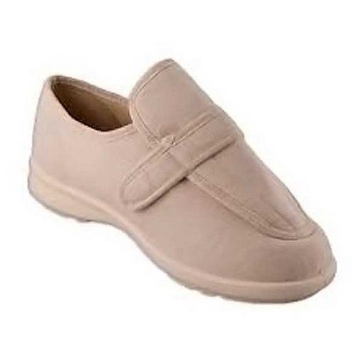 Zapato especial pie diabético beis